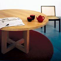 Tisch circolo Schwarznuss